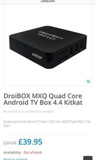 Droibox MXQ Android Tv Box