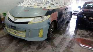 Toyota Estima respray