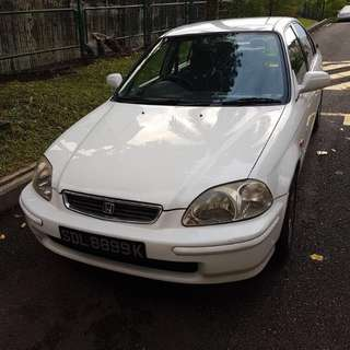Honda civic ek3 1.6single cam auto