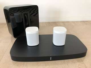 Full Sonos Home Theatre