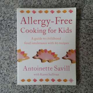 Allergy free cooking for kids