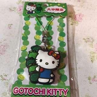 Hello kitty吊飾 日本限定