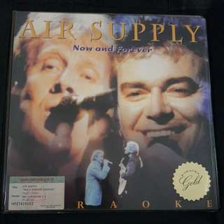 Air Supply Laser Disc