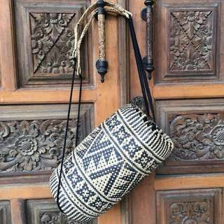 Borneo Rattan Backpack