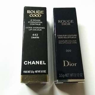 全新Chanel 442色唇膏
