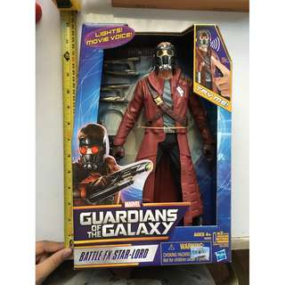 "Marvel Star Lord - Guardians of the Galaxy 12"" tall"