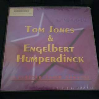 Tom Jones and Engelbert Humperdinck Laser Disc