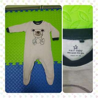 Baby Bear Sleepsuit