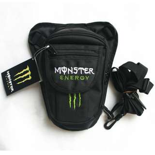 Motorcycle Waist Leg Bag monster Energy
