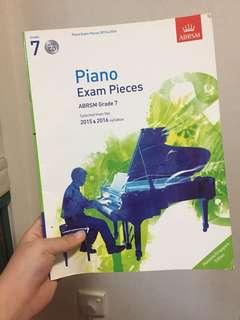Piano Exam Pieces ABRSM Grade 7