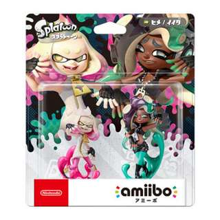 Nintendo Switch amiibo (Splatoon Series) Tentacle Single / Twin Pack Sets [Hime / Ida] (Pre-Order)