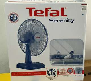 Superb Big Wind Tefal Desk Fan
