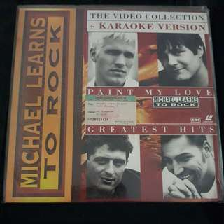 Michael Learns to Rock Laser Disc