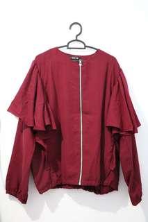 Blouse merah marun