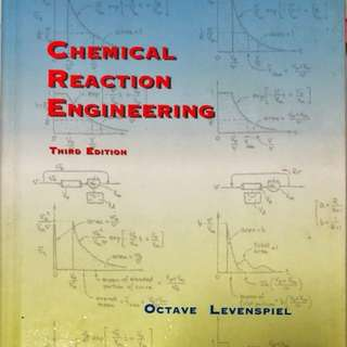 Chemical Reaction Engineering 3rd Edition (Levenspiel)