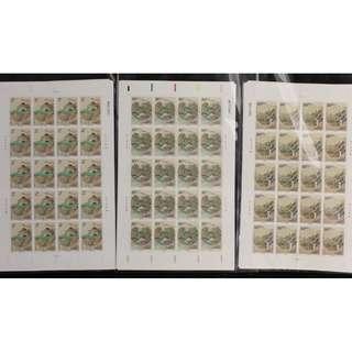 2003-18 重阳节 邮票 大版