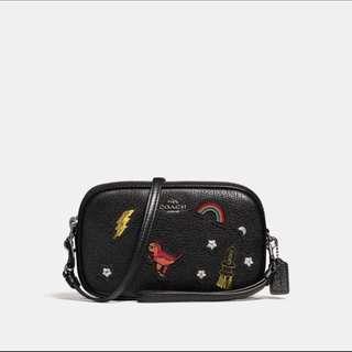 Original coach women sling bag handbag crossbody bagv
