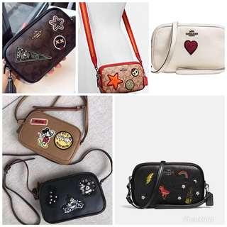 Original coach women sling bag crossbody bag handbag