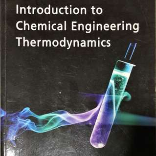 Introduction to Chemical Engineering Thermodynamics 7th Edition (Smith et. al.)