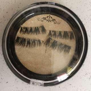 Magnetic false eyelash