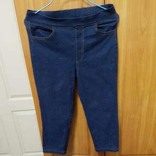 Jeans pant 3/4