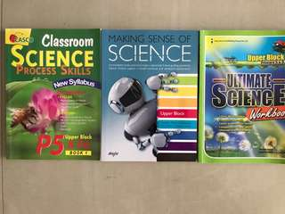 Assessment books for Primary 5