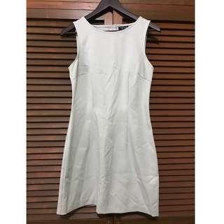 Laurel Green Sleeveless Short Dress