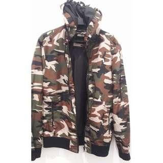 Branded Berscka Jacket/Raincoat Camouflage