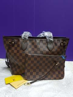 LV bag 2 in 1