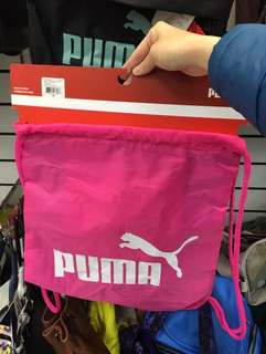 New&Authentic✨Puma Carry Sack in Pink