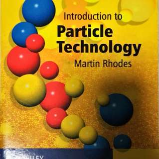 Introduction to Particle Technology 2nd Edition (Rhodes)