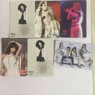 2NE1 Yes Card