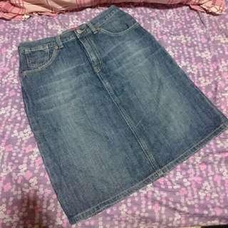 Denim skirt (Size 28)