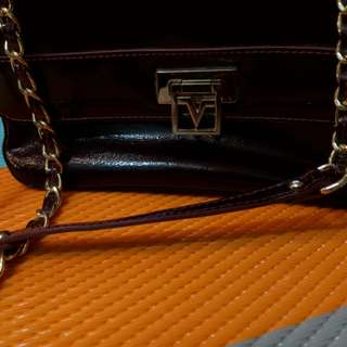 Burgundy Valentino Rudy handbag (preloved)