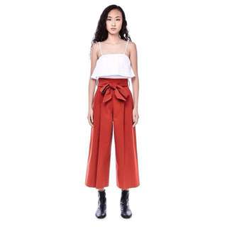 TEM Gehry Pleated Pants in Rust