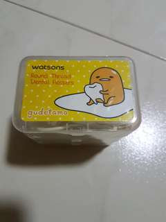 ⛤ 3 Boxes of Gudetama Round Thread Dental Flossers