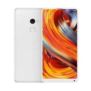 Kredit Xiaomi Mi Mix 2 Smartphone - White [128GB/RAM 8GB]