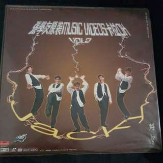 Jacky Cheung (Zhang Xue You) Laser Disc