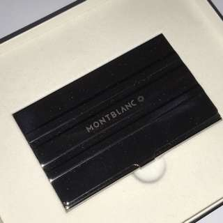 Montblanc Stainless Steel Name Card Holder