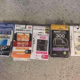 PSP/Pspgo/nds/保護貼