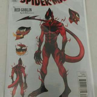 Marvel Spider-man comic variant