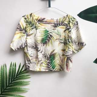 Tropical Style Top