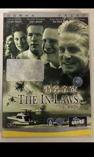 2003 The In-Laws DVD (Starring Michael Douglas)