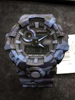 Casio G-Shock GA-700CM-2A ga-700cm-2a GA-700CM GA-700 camouflage 迷彩