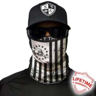 SA Co. Face Shield: DON'T THREAD (BLACK & WHITE)