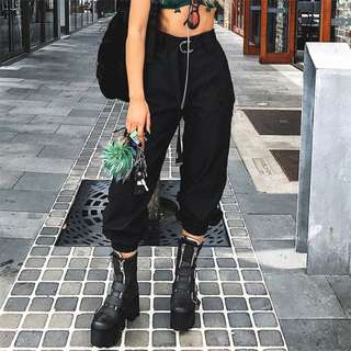 [PO] Casual Rouched Pants