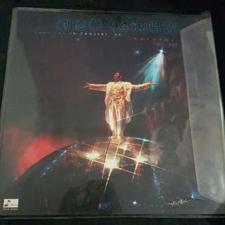 Andy Lau Concert Laser Disc