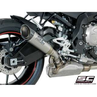 SC Project Street Legal for BMW S1000R (2017~2018 Only)