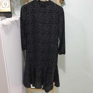 Chiffon Polka Dot Dress