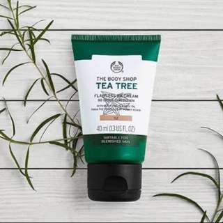 The Body Shop BB Cream (tea tree)